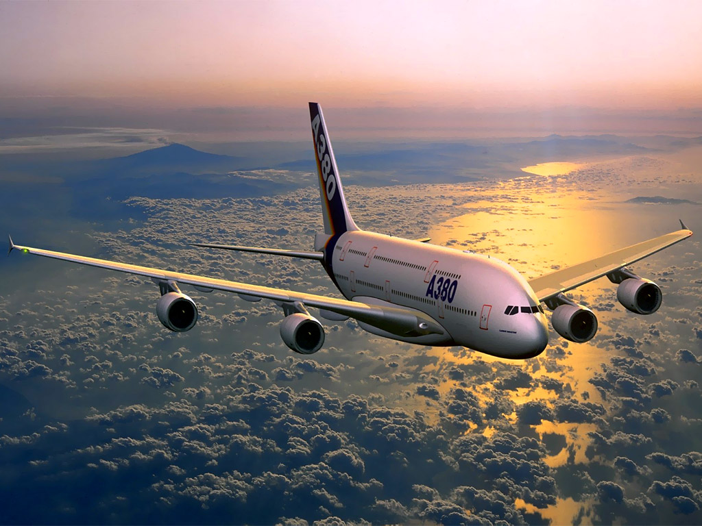 Airbus A380 Super-Jumbo Share this Wallpaper on your Facebook wall !